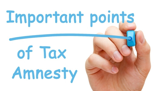 Important Points of Tax Amnesty_1